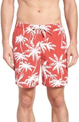 Quiksilver Waterman Collection Palma Volley Swim Trunks Mineral Red