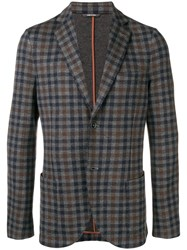 Loro Piana Checked Blazer Neutrals