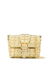 Red Valentino V Flower Puzzle Bag Gold