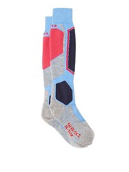 Falke Sk2 Mountain Ski Socks Light Blue
