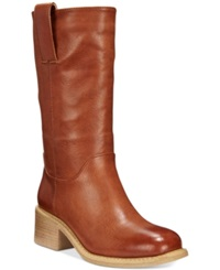 Dolce By Mojo Moxy Bounty Tall Shaft Boots Women's Shoes Cognac