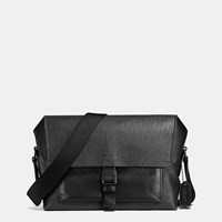 Coach Manhattan Bike Bag In Mixed Leather Bk Black