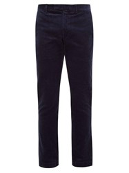 Polo Ralph Lauren Cotton Corduroy Slim Fit Chino Trousers Navy