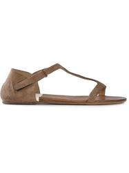Marsell Marsell T Bar Flat Sandals