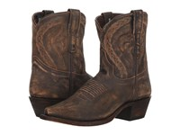 Dingo Annie Brown Leather Cowboy Boots