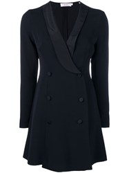 A.L.C. Double Breasted Blazer Style Dress Black