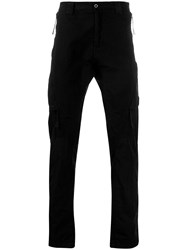 C.P. Company Cp Lens Detail Cargo Trousers Black