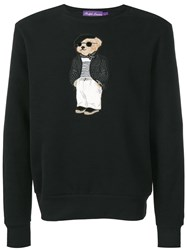 Ralph Lauren Teddy Jumper Black