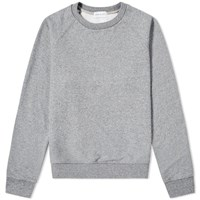 John Elliott Raglan Crew Sweat Grey