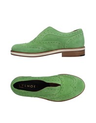 L'f Shoes Loafers Green
