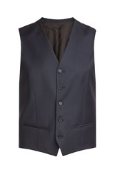 The Kooples Wool Vest Blue