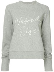 Nobody Denim Else Sweatshirt Grey