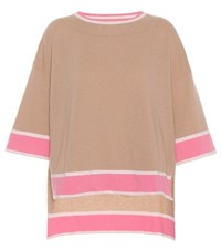 81 Hours Isabel Wool And Cashmere Sweater Brown