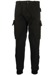 Paul And Shark Panelled Cargo Pants 60