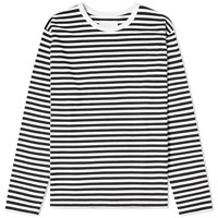 Nanamica Coolmax Long Sleeve Stripe Jersey Tee