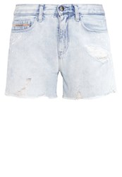 Calvin Klein Jeans Denim Shorts Destroyed Denim