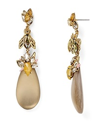 Alexis Bittar Lucite Bumble Bee Drop Earrings