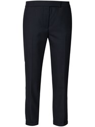 Thom Browne Cropped Trousers Blue