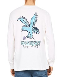 Insight Easy Rider Long Sleeve Graphic Tee Dusted White