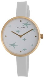Pilgrim Beautiful Gold Plated And Blue Watch Blue