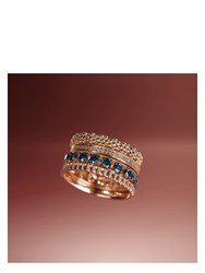 Annoushka Dusty Diamond Eternity Ring Rose Gold