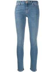 7 For All Mankind Denim High Waisted Skinny Jeans 60
