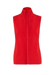 Aeance Water Repellent Performance Gilet Red