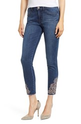 Wit And Wisdom High Waist Ankle Skimmer Jeans Blue