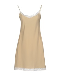 Appartamento 50 Short Dresses Beige