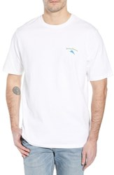 Tommy Bahama Live The Island Life Graphic T Shirt White
