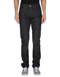 Salvatore Ferragamo Denim Pants Steel Grey