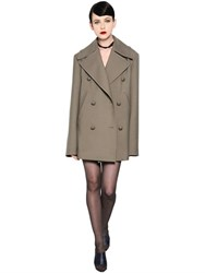Nina Ricci Double Breasted Wool Coat