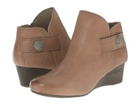 Rockport Total Motion 45Mm Wedge Stone Bootie M Grey Dist Goat Women's Boots Black