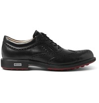 Ecco Tour Hybrid Leather Brogues Black