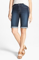 Nydj Women's 'Briella' Cuff Stretch Denim Shorts