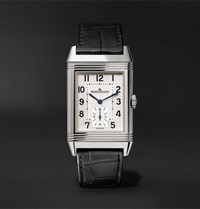 Jaeger Lecoultre Reverso Classic Large Hand Wound 27.4Mm Stainless Steel And Alligator Watch White