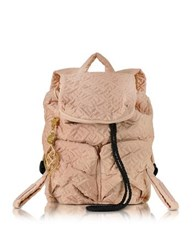 See By Chloe Lois Bisou Quilted Nylon Small Backpack Nude