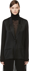 Avelon Black Flapper Fancy Suiting Coat