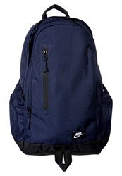 Nike Sportswear All Access Fullfare Rucksack Obsidian Black White Dark Blue