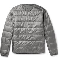 Descente H.C.S. Quilted Shell Down Jacket Gray