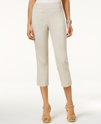 Jm Collection Embellished Pull On Capri Pants Only At Macy's Stonewall