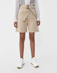 J.W.Anderson Fold Front Utility Short Flax