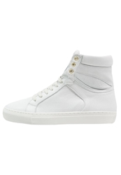 Boom Bap Karma Hightop Trainers Triple White