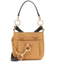 See By Chloe Tony Small Leather Bucket Bag Yellow