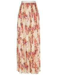 Needle And Thread Petal Pink Prairie Rose Maxi Skirt