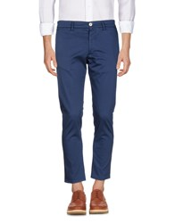 People Casual Pants Blue