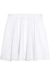 Love Moschino Broderie Anglaise Cotton Skirt
