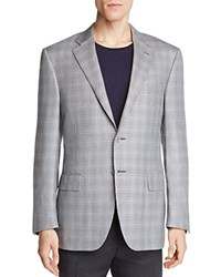 Canali Houndstooth Classic Fit Sport Coat Gray