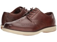 Nunn Bush Maclin Street Wing Tip Oxford With Kore Slip Resistant Walking Comfort Technology Brown Multi Lace Up Wing Tip Shoes