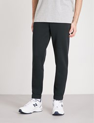 Tommy Jeans Logo Print Cotton Blend Jogging Bottoms Tommy Black